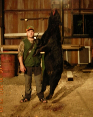 Black Bear Hunter from Norway