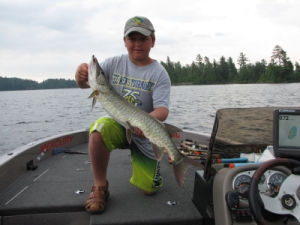 muskie lower manitou lake