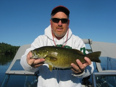 smallie fishing barker bay resort ontario