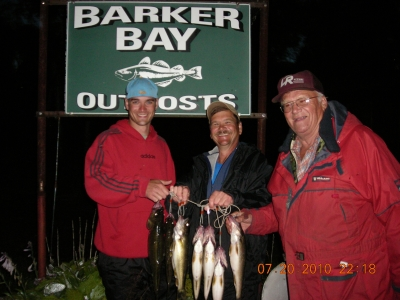 walleye fishing lower manitou