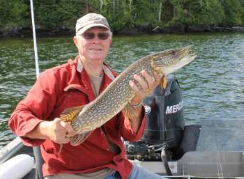 Jim nice Northern Pike Lower Manitou Lake