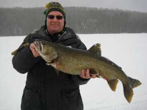 John H Lake Trout on the Manitou