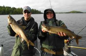 Matt and Travis with a double Lakers