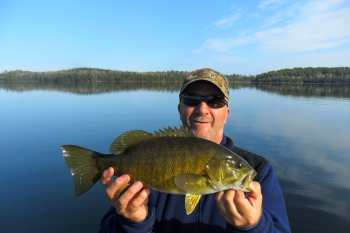 October Bass Lower Manitou Lake