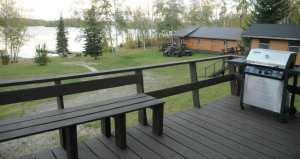 smallie cabin deck