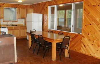 Smallie cabin kitchen