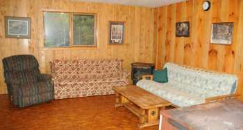 Smallie Cabin Living Room