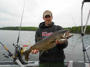 Travis Lower Manitou Lake Trout